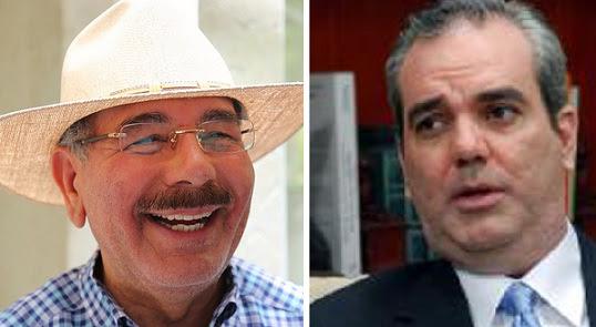 Danilo Medina 62%, Luis Abinader 29%, según encuesta Mark Penn-SIN
