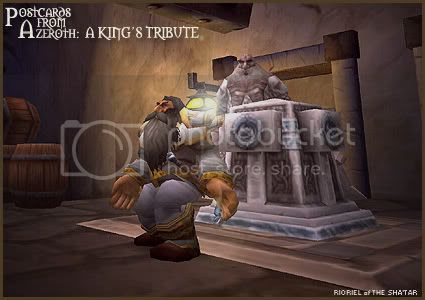 Postcards of Azeroth: A King's Tribute, by Rioriel Ail'thera
