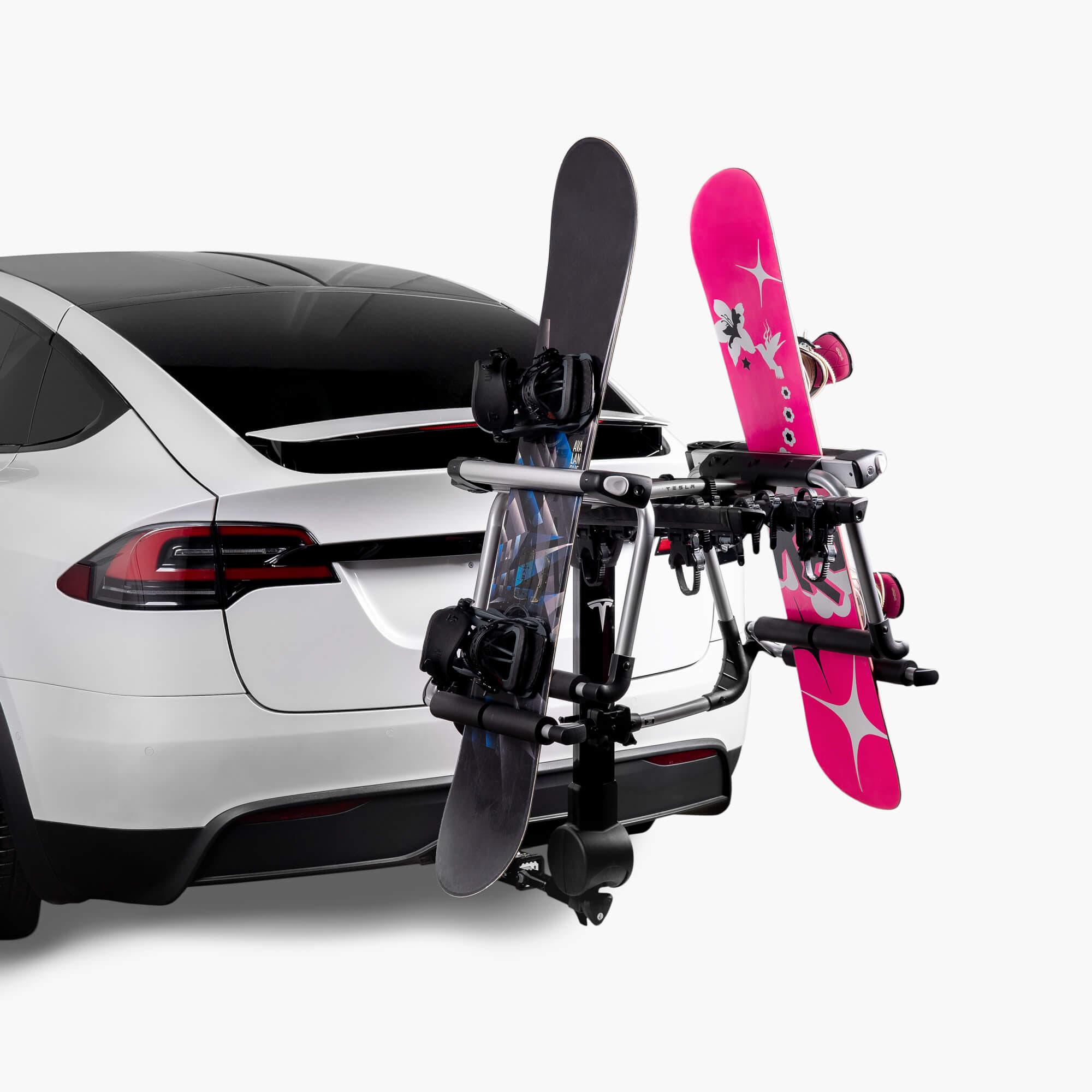 Model X Ski Snowboard Carrier For Hitch Rack
