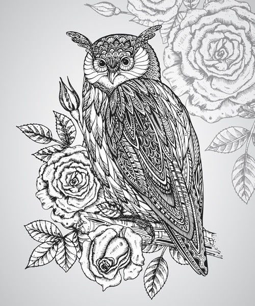 7600 Wallpaper Burung Hantu Vektor HD Terbaik