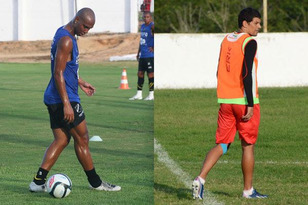 Flávio Boaventura defendeu o ABC nesta temporada; Edson Rocha ostentou a faixa de capitão do América