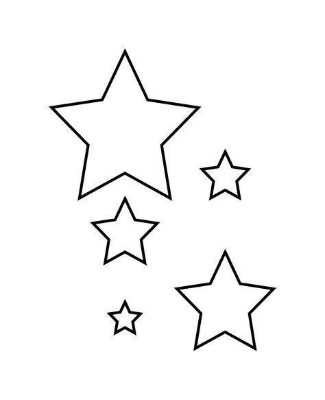 malvorlage stern kostenlos  amorphi