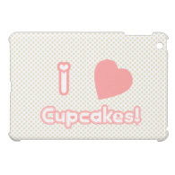 I Heart Cupcakes {Mini iPad Case} Case For The iPad Mini