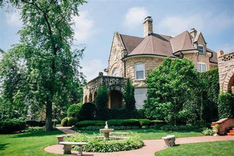 The Haley Mansion Southwest Chicago Wedding Site Joliet