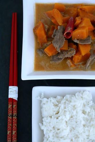 Thai curry di zucca