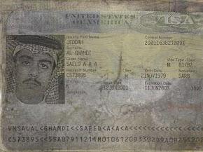 Passaporto di Saeed al-Ghamdi