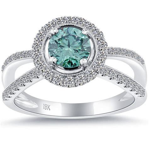 Unique Colored Diamonds Rings #3 Colored Engagement Rings