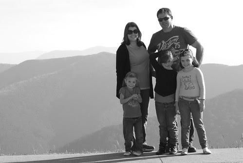 Mt Hotham Family photo