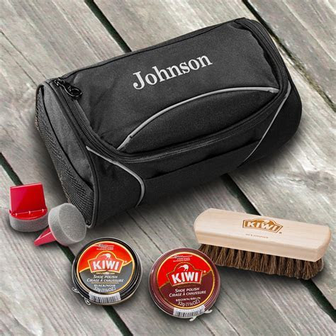 Personalized Shoe Shine Kit   The Man Registry
