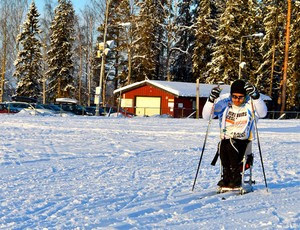 Fernando Aranha esqui cross country (Foto: Arquivo Pessoal)