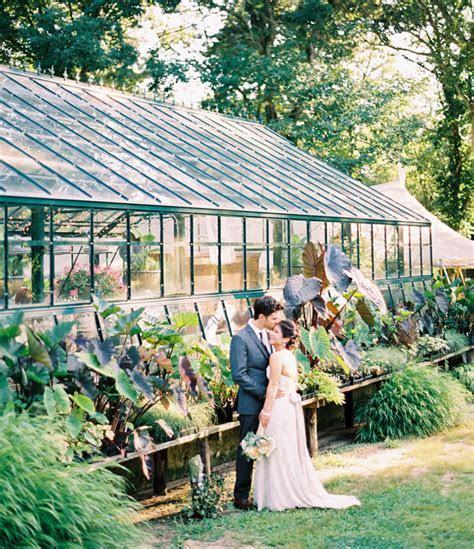 An Herb Farm Wedding: Jen   Simon   Greenhouse wedding