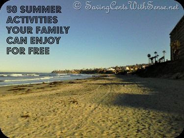 50 FREE Activities Your Family Can Enjoy this Summer - Saving Cents With Sense
