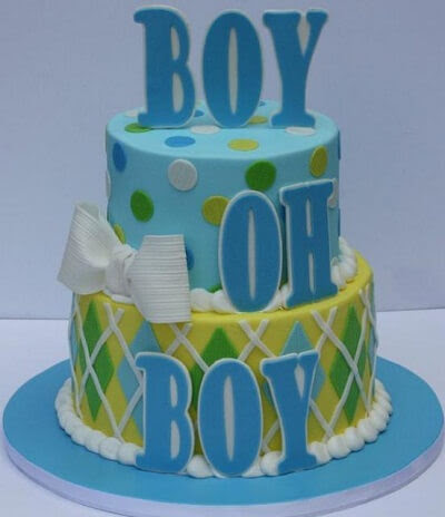 Baby Shower Cakes for Boys and Preferences · Baby Care Answers