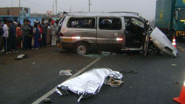 Seguridad Vial, muertos, Perú,