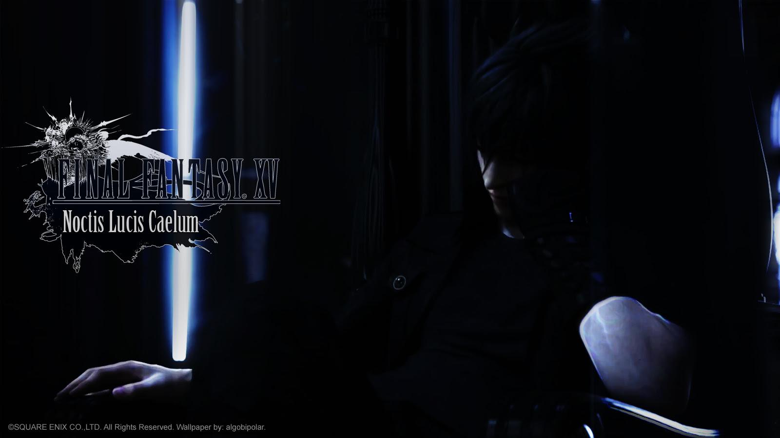 Final Fantasy Xv Wallpaper A Noctis Wall He S Thinking Minitokyo