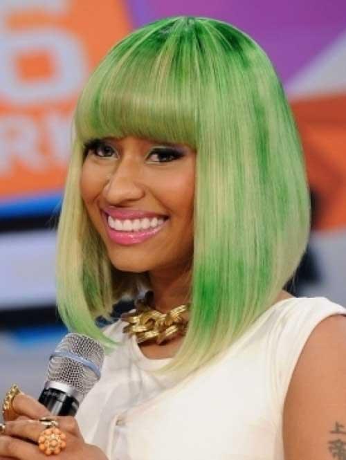 Bob Hairstyles Nicki Minaj