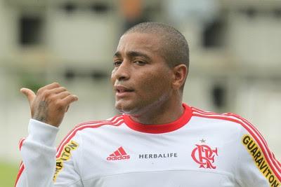Anderson Pico, Flamengo, Ninho do Urubu (Foto: Gilvan de Souza/Fla Imagem)
