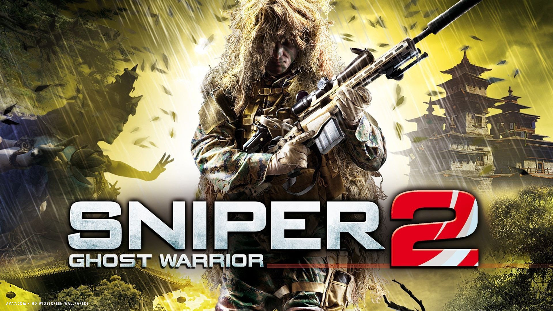 Sniper Ghost Warrior 2 Game Hd Widescreen Wallpaper Games
