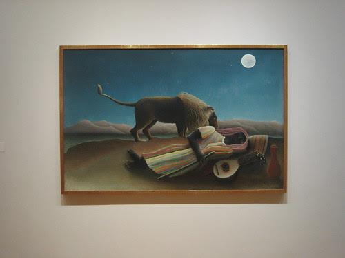 The Sleeping Gypsy, 1897, Henri Rousseau  _7449
