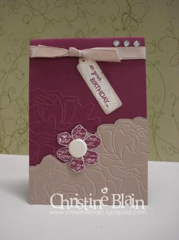 APRIL BLOG HOP CARD BIRTHDAY