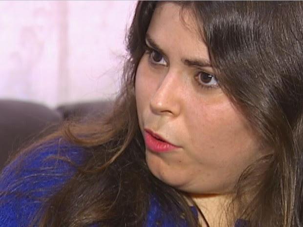Mariana Justulin foi reprovada na perícia médica de concurso público de Bariri (Foto: TV TEM/Reprodução)