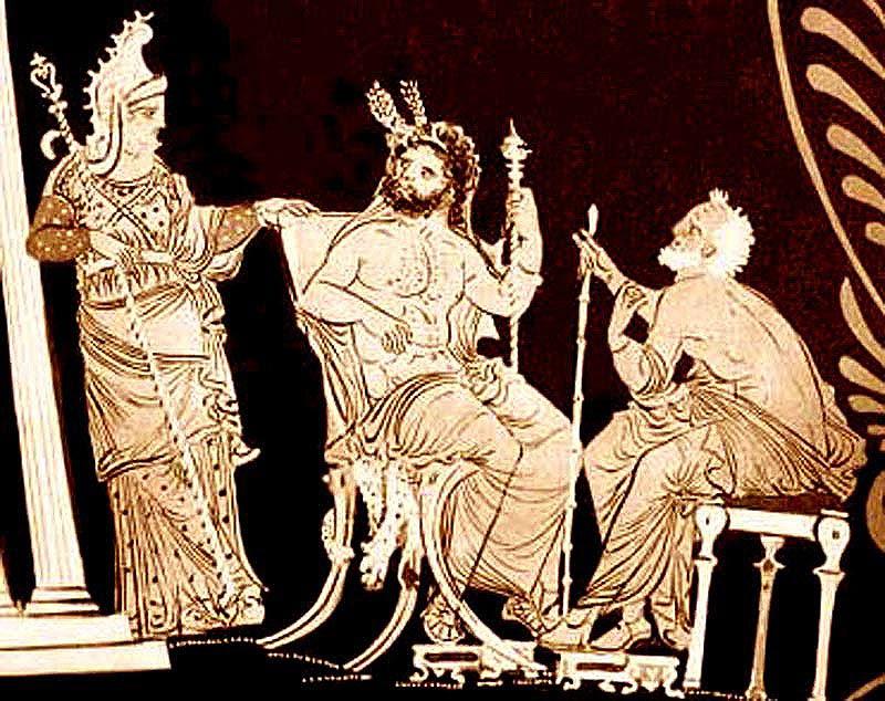 Αποτέλεσμα εικόνας για judges of the dead greek mythology