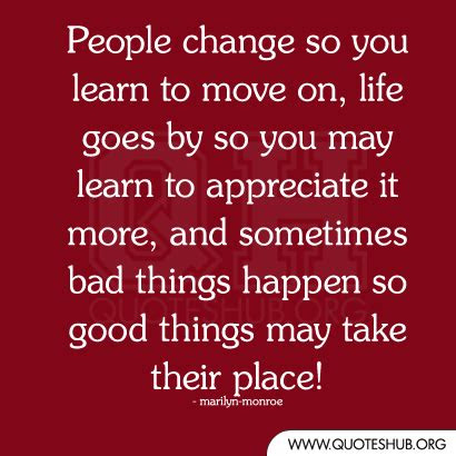 Good Things Go Bad Quotes