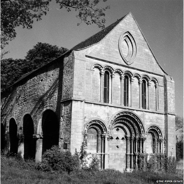 This is a photograph of a chapel possibly in Stamford, Lincolnshire