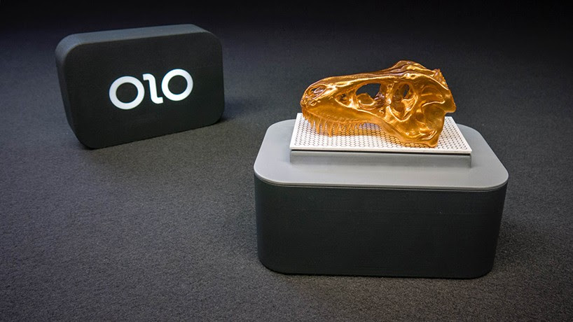 OLO uses white light from smartphones to create detailed 3D prints