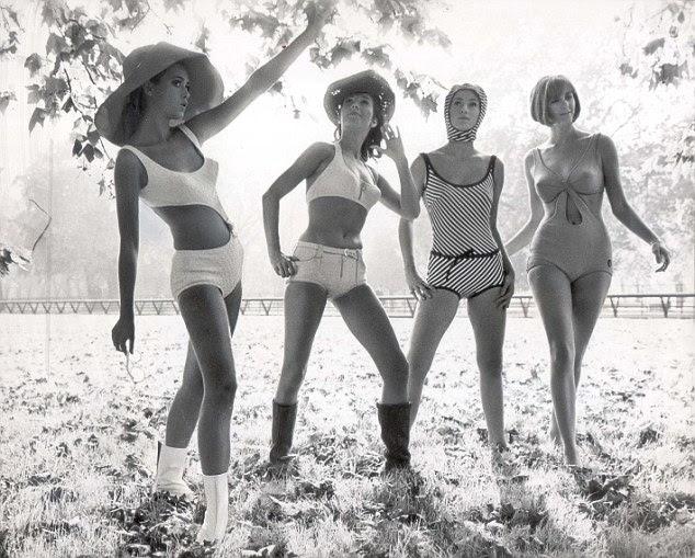 Retro: A Triumph Internacional atirar em Hyde Park, 1965