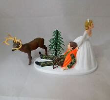 Camo Wedding Cake Toppers   eBay