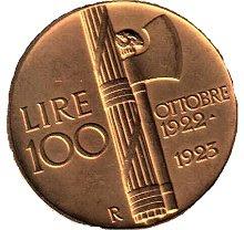 moeda Itália fascista