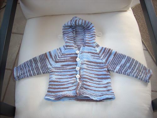 Ezra's sweater