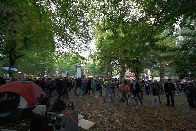 #OccupyPortland, 10/6/11