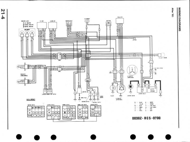 34 Honda Fourtrax 300 Rear End Diagram - Wiring Diagram ...