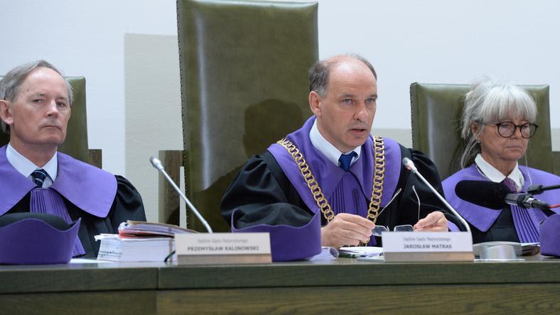Sędziowie od lewej: Przemysław Kalinowski, Jarosław Matras i Dorota Rysińska