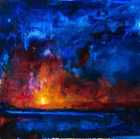 saatchi art abstract art landscape painting buttle