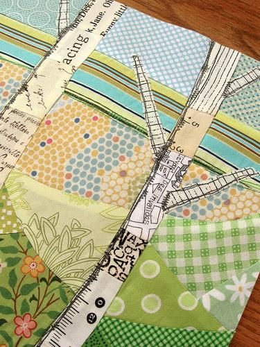 thread sketching detail