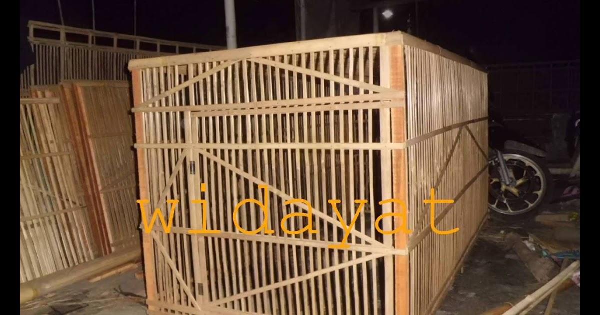 Ukuran Kandang Umbaran Ayam Bangkok Dari Bambu / 19 Model ...