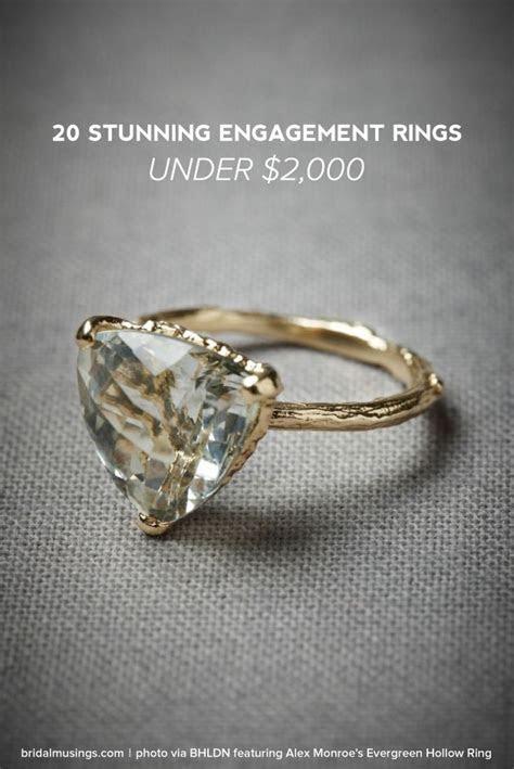 20 STUNNING ENGAGEMENT RINGS UNDER $2,000   crazyforus