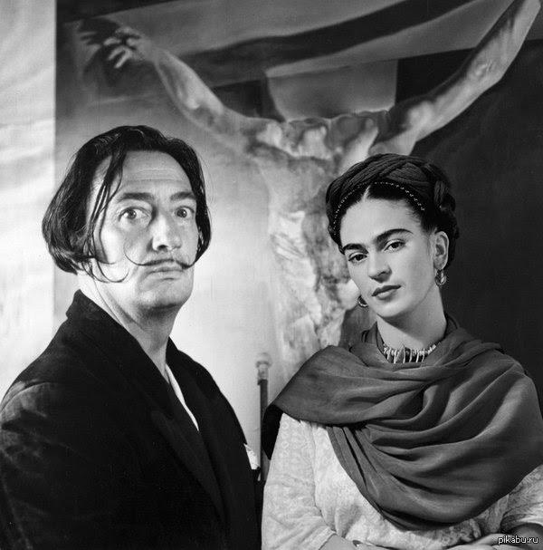 Сальвадор Дали и Фрида Кало
