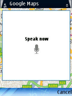 Google Maps V4 1 Brings Voice Search For Symbian And