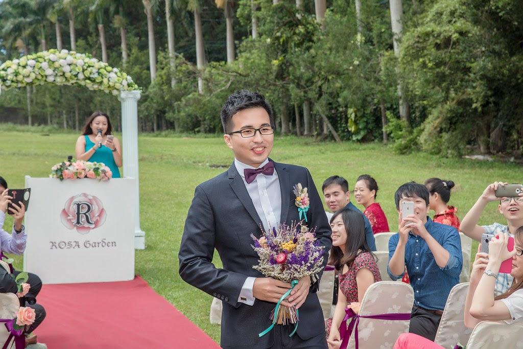 桃園大溪蘿莎會館 戶外婚禮