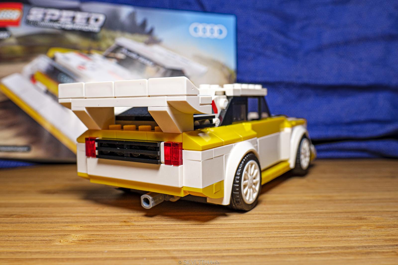 lego speed champions 2020  audi sport quattro s1 build