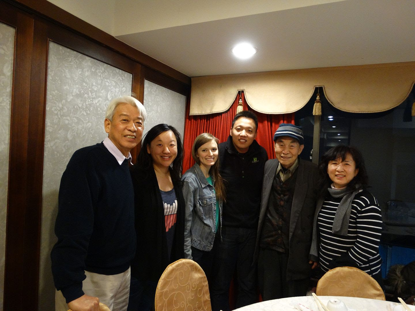 Dinner with the World's Oldest Bird Calligrapher in Kaohsiung, Taiwan