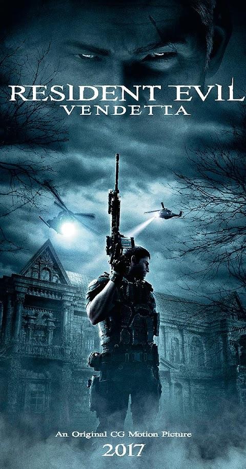 Resident Evil: Vendetta(2017) 480p 720p BluRay Dual Audio (Hindi+English) Full Movie
