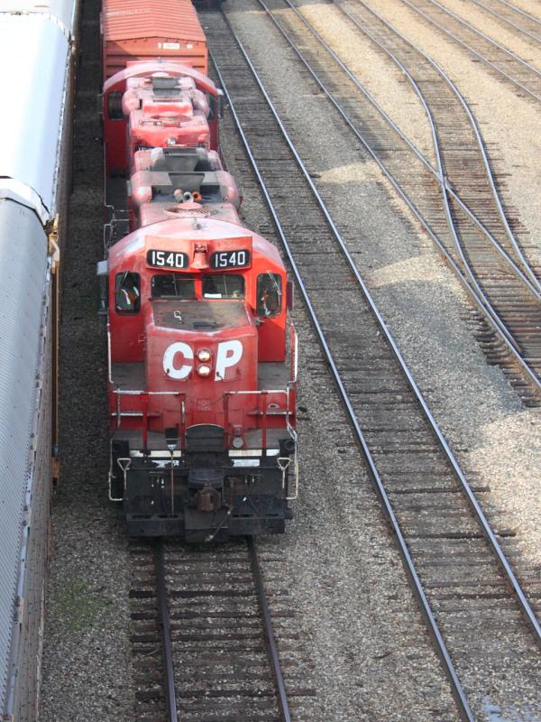 CP 1540 in Winnipeg