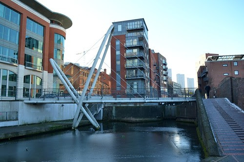 Islington Place Footbridge, Birmingham & Fazeley Canal