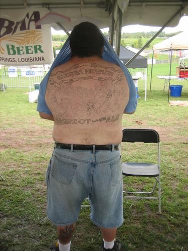 Big Bigfoot tatt