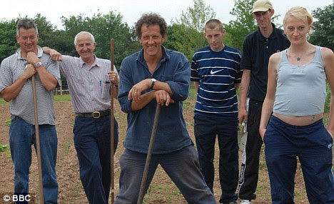 Monty Don worked with and inspired many young offenders with his BBC programme 'Growing out of Trouble'